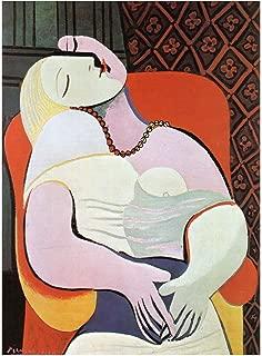 Spiffing Prints Pablo Ruiz Picasso The Dream - Small - Matte - Unframed