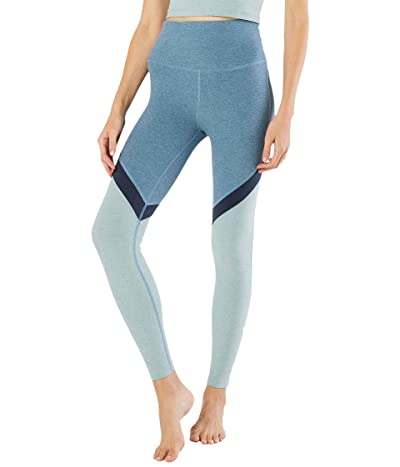 Beyond Yoga Spacedye High Waisted Midi Leggings (Stormy Blue) Women