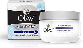 Olay Natural White Night Nourishing Repair Cream – 50gm