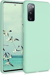 kwmobile Hülle kompatibel mit Samsung Galaxy S20 FE   Handyhülle   Handy Case in Mintgrün matt