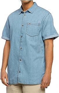 Tommy Jeans män, unisex TJM REG DENIM SHIRT Skjorta