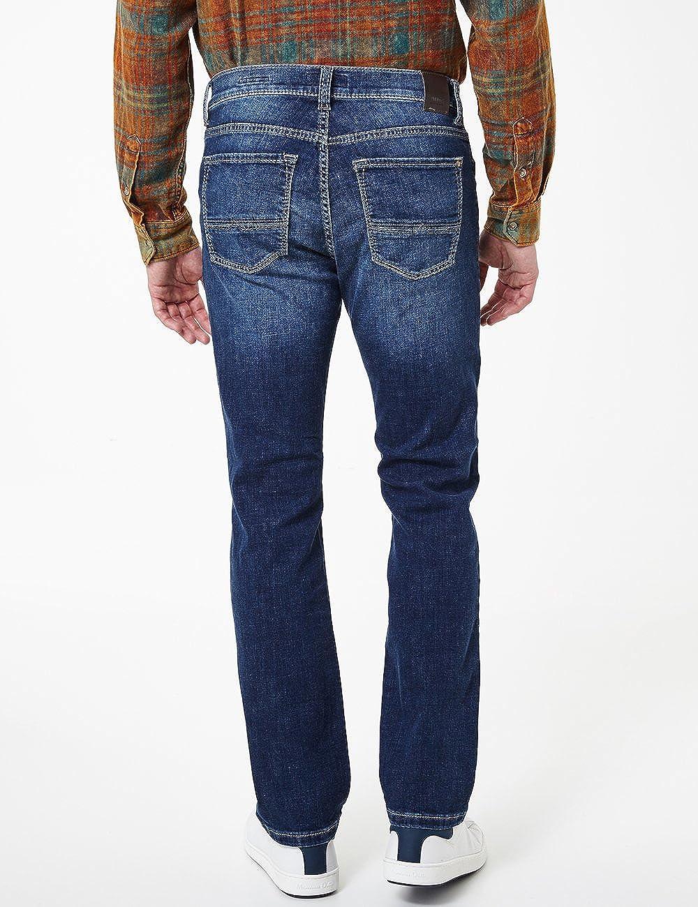 Pioneer Rando Megaflex Pantalon Homme Bleu (Stone Used With Buffies 348)