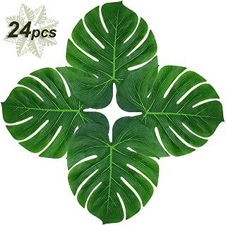 Soyee 24pcs Tropical Palm Leaves 14