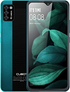 "Unlocked Smartphones, CUBOT Note 7 Android 10, 4G Dual SIM Unlocked Cell Phones, 5.5"" HD Display, Triple Cameras, 2GB/16GB..."