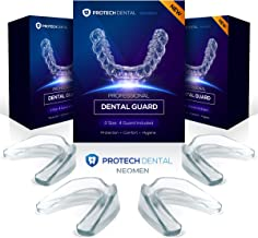 Neomen Mouth Guard for Grinding Teeth, Moldable Custom Dental Night Guards for Teeth Grinding, Stops Bruxism, Tmj & Eliminates Teeth Clenching
