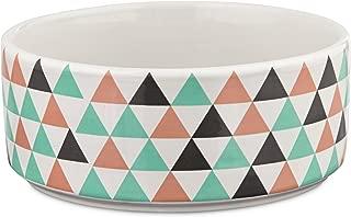 HARMONY Boho Ceramic Dog Bowl