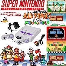 Super NES Mario Set with 5-Game Cartridge (Renewed)