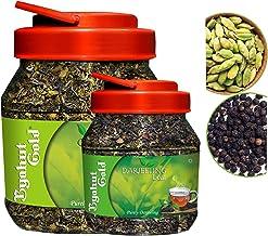 Byahut Gold Cardamom with Green Tea Leaves & Black Pepper with Darjeeling Tea Leaves, 400g