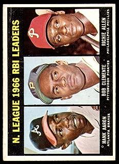 roberto clemente 1967 topps
