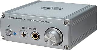 audio-technica ヘッドホンアンプ φ6.3ステレオ標準/φ3.5ステレオミニジャック両対応 AT-HA21