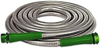 The Best Garden Hose AS SEEN ON TV heavy-duty stainless steel, tangle-resistant and lightweight! Original Metal 304 Stainless Steel Hose