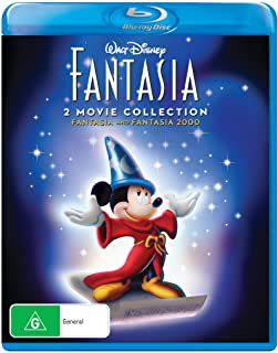 Disney Fantasia and Fantasia 2000 Duo Collection Blu-ray