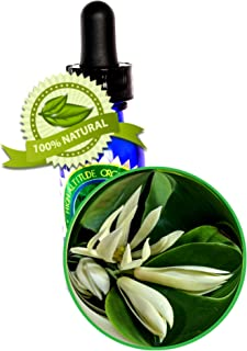White Champaca Absolute Oil (Magnolia Alba) - 30ml (1oz) - 100% Pure and Natural, for Beautiful Skin, Body, and Mind.
