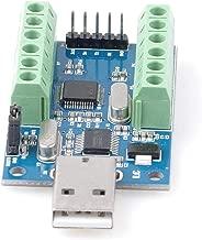 USB 10-Channel 12-Bit AD Data Acquisition Module STM32 UART Communication USB to Serial Chip CH340 ADC Module