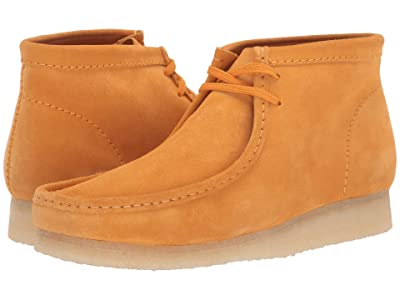 Clarks Wallabee Boot (Burnt Yellow Suede) Men