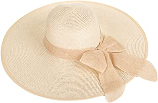 AINIYF Women's Collapsible Sun Hat, Summer Leisure Outdoor Beach Cap Sun Protection UV Protection Cool Hat (Color : Yellow)