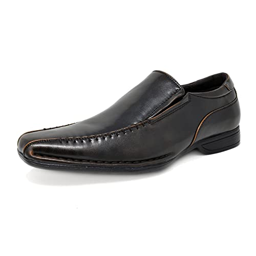 Bruno Marc Mens Giorgio Leather Lined Dress Loafers Shoes