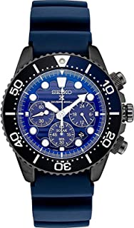 Prospex SSC701 Special Edition Blue Silicone Solar Powered Diver's Chronograph Watch