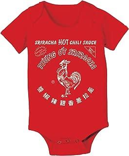 Sriracha Hot Chili Sauce Spicey Great Tasting Baby One Piece
