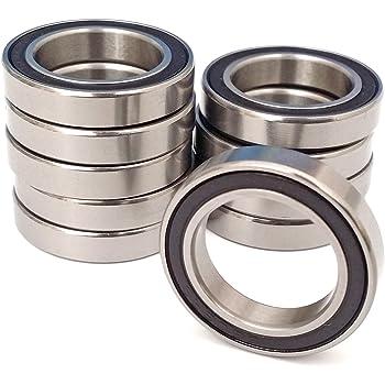 QTY 1 6307 35x80x21 mm Nylon Plastic PRECISION Ball Bearing Bearings