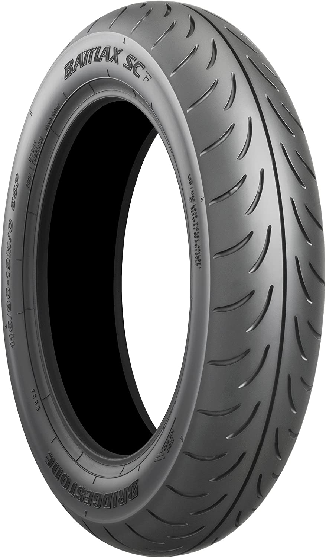 Bridgestone battlax SC TL–90/70/90/R1434p12–A/A/70DB–Neumáticos de verano (Moto)