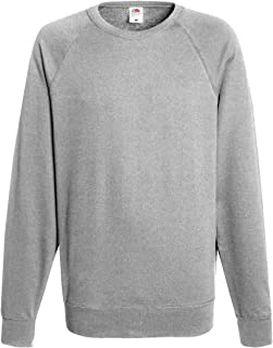 Fruit of the Loom Raglan Sweatshirt Felpa Uomo