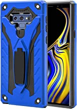 AFARER Samsung Galaxy Note 9 case,Military Grade 12ft Drop Tested Protective Case with Kickstand,Military Armor Dual Layer Protective Cover Compatible with Samsung Galaxy Note 9 6.3 inch Blue