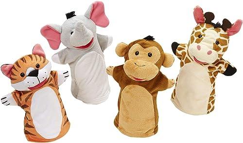 Melissa & Doug | Marionnettes À Gaine Amis Du Jardin Zoologique | Marionnettes & Théâtres | 2+ years