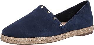 حذاء باليه مسطح للسيدات من Anne Klein Kaily-S، أزرق داكن، 10