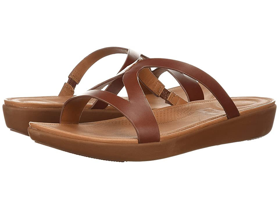FitFlop Strata Slide Sandals (Cognac) Women