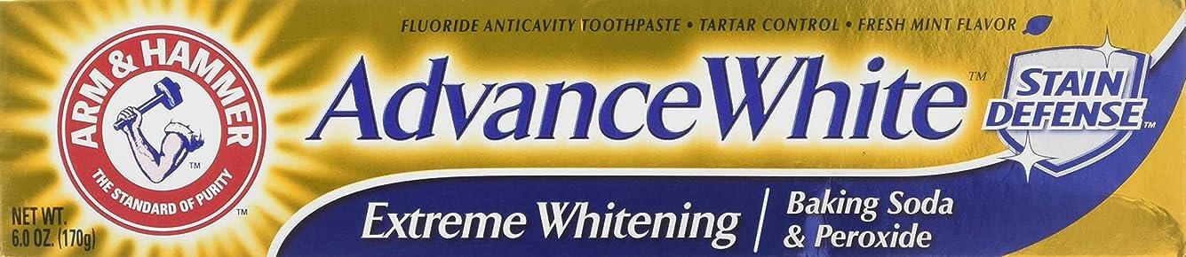 はねかける組み立てるつぼみArm & Hammer アドバンスホワイトエクストリームホワイトニングハミガキクリーンミント - 6 Oz-