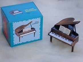 "Grand Piano Pencil Sharpener Die Cast Metal 2"" W X 2"" T Great Music Gift NIB"