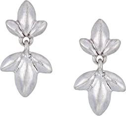 Trefoil Double Drop Earrings