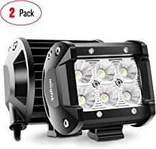 "Nilight 60001F-B Bar 2PCS 18w 4"" Flood Fog Road Boat Driving Led Work Light SUV Jeep.."