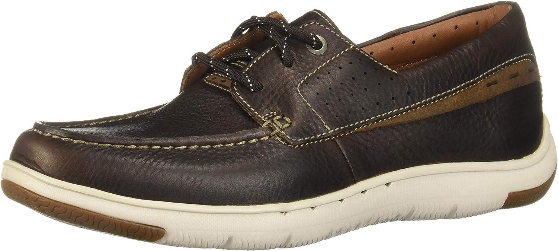 CLARKS Men's UnMaslow Edge Moc Toe Sneaker