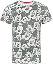 Mickey Mouse Disney Face All Over Print Men's T-Shirt