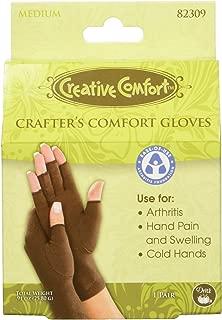 Dritz 82309 Crafters Comfort Glove-Medium