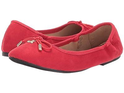 Sam Edelman Kids Felicia Ballet (Little Kid/Big Kid) (Lipstick Red) Girls Shoes