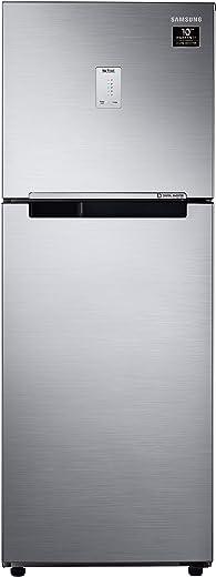 Samsung 253 L 3 Star with Inverter Double Door Refrigerator (RT28A3453S8/HL, Elegant Inox) 1