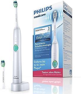Philips 飞利浦 Sonicare Easy Clean 电动牙刷带声波技术 hx6512 白色