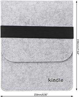 44c02da7a8 RingBuu Slim Felt Bag Sleeve Case For Amazon Kindle Paperwhite 1/2/3 Voyage