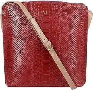 Hidesign Women's Sling Bag (Red)