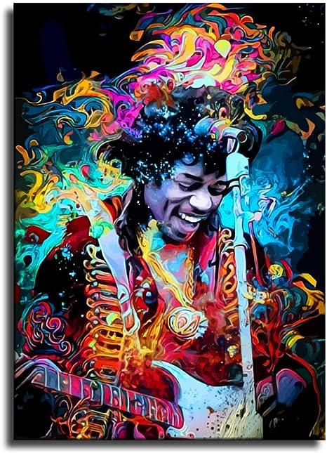 Jimi Hendrix poster Jimi Hendrix print. Jimi Hendrix music art