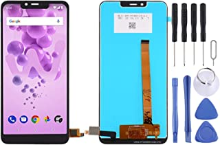 Cell Phone Replacement Part LCD Screen and Digitizer Full Assembly for Wiko View2 Go / View2 Plus Phone Accessories
