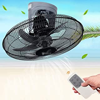 Wall-mounted fan ALY® Ventilador De Pared con Mando A Distancia, Oscilante/Silencioso / 90w / Temporizador / 3 Velocidades / 20 Pulgadas/Ventilador para El Hogar