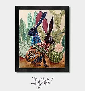 Best folk art rabbit Reviews