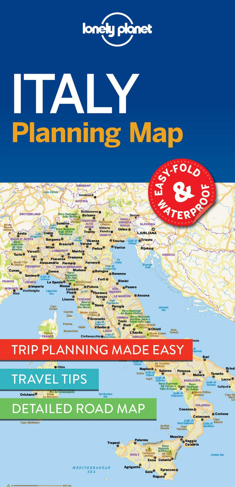 Download Lonely Planet Italy Planning Map (Planning Maps)