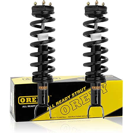 Front Pair Quick Complete Struts /& Coil Springs for 2006-2008 Dodge Ram 1500 4WD
