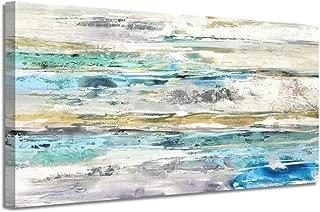 horizontal abstract canvas art
