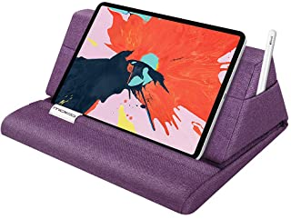 "MoKo Tablet Pillow Stand, Soft Bed Pillow Holder Fits up to 11"" Pad, Fit with iPad 10.2"" 2019, New iPad Air 3, Mini 5, iPa..."